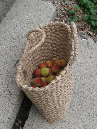 Basket of peaches 1