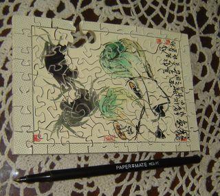Oriental puzzle