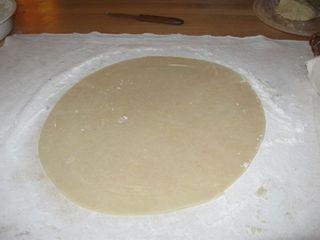 Trimmed crust
