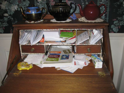 desk Overbooked And Underpaid Anne Morse Hambrock