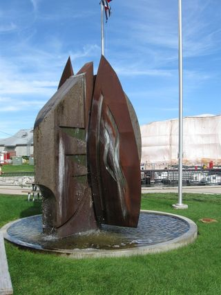 Rust sculpture 1