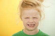 Grouchy girl