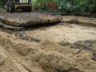 Sandy driveway 2