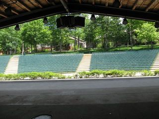 Interlochen Looking Out From Bowl Stage