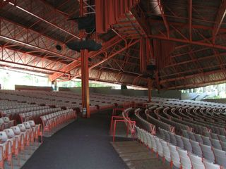 Interlochen Kresge seats and catwalks