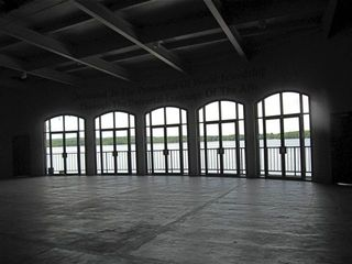 Interlochen Kresge stage with windows