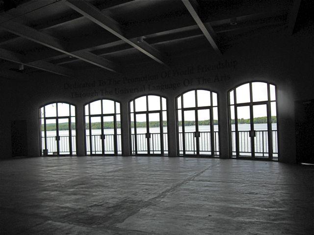 Interlochen Kresge stage with windows