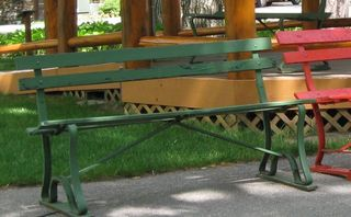 Interlochen old benches