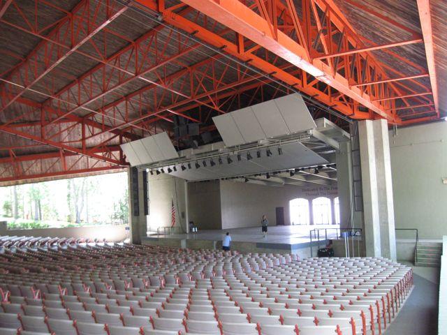 Interlochen Kresge seats and stage