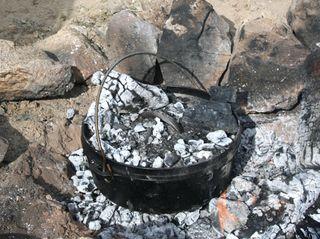 Dutch-oven-coals