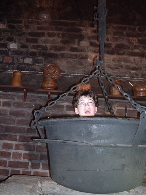 Alex in hanging pot