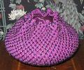 Beaded crochet bowl cover
