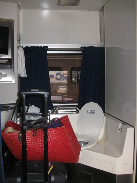 Accessible Amtrak room 1