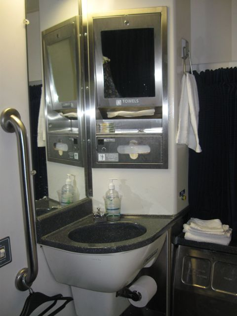 Accessible Amtrak room 2