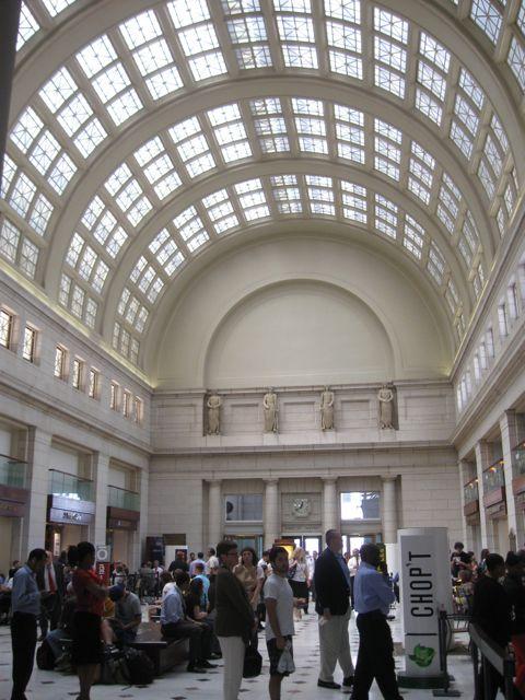 Union Station arched entrance