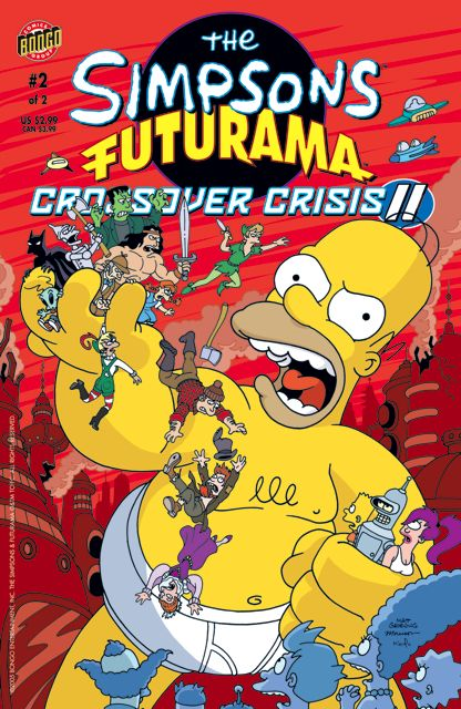 Morrison Futurama Simpsons cover