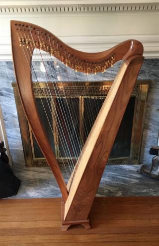 Dusty Strings harp FH32 1 Anne Morse-Hambrock Wisconsin