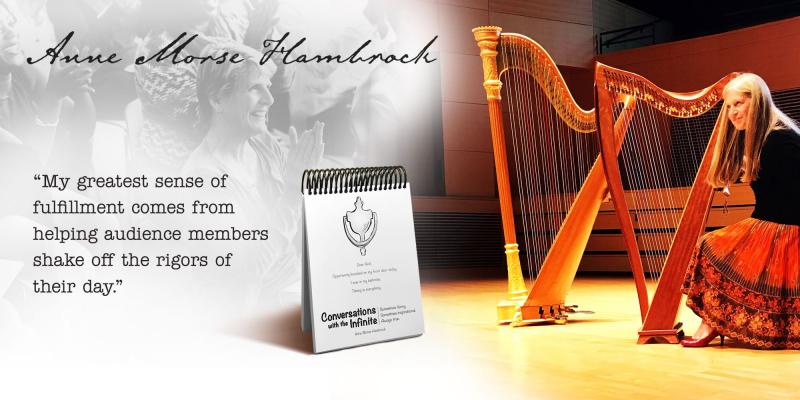 Anne Morse-Hambrock Harp Meets Humor