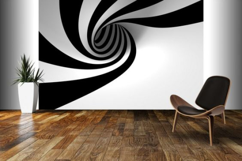 Outstanding wall art ideas inspired by optical illusions 4