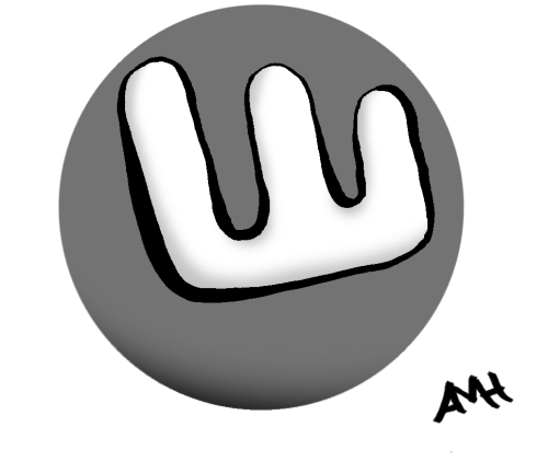 Word logo anne and god