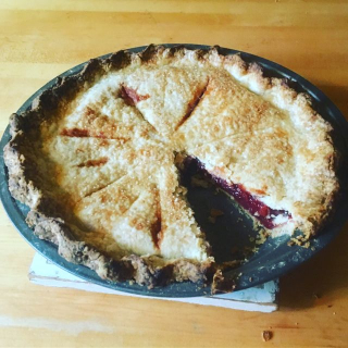 Sliced cherry pie back to betty overbooked and underpaid