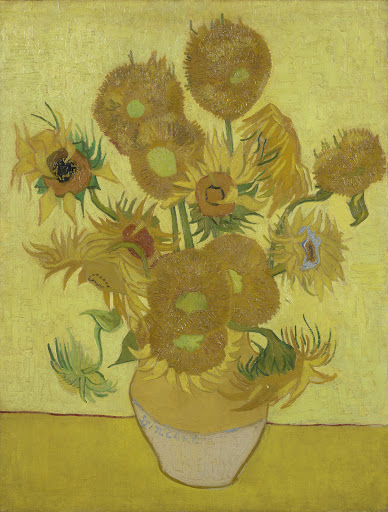 Van Gogh Sunflowers overbooked and underpaid