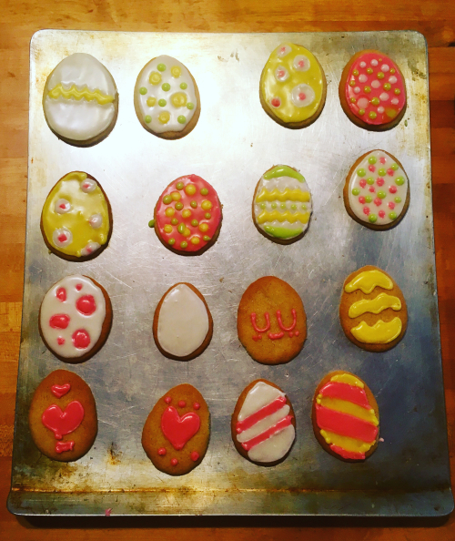 Betty Crocker Sugar cookies eggs overbooked and underpaid