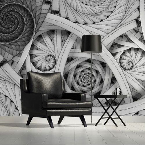 Outstanding wall art ideas inspired by optical illusions 3