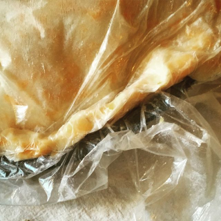 plastic wrap for making folded pie edge back to betty overbooked and underpaid