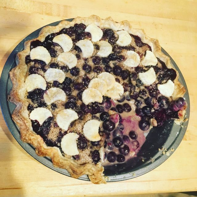 Blueberries and cream pie underbaked Back To Betty Overbooked and Underpaid