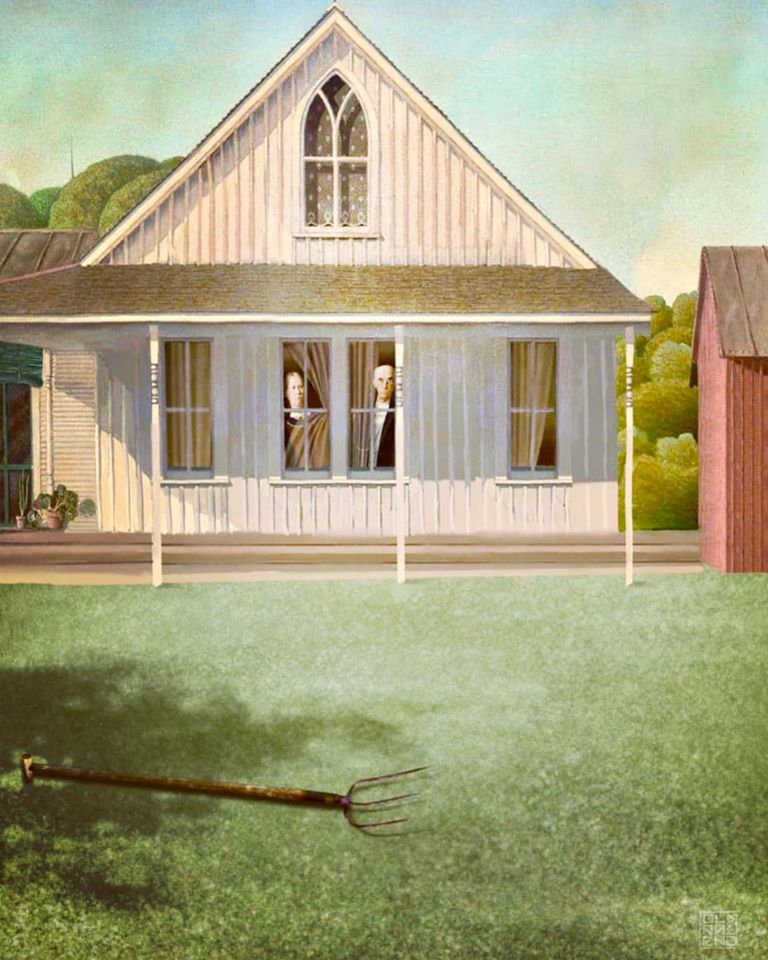American Gothic quarantine overbooked and underpaid