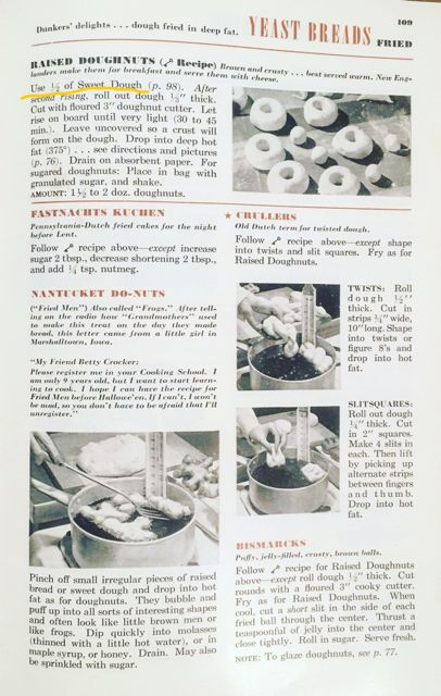Vintage Betty Crocker Donuts recipe Overbooked and Underpaid