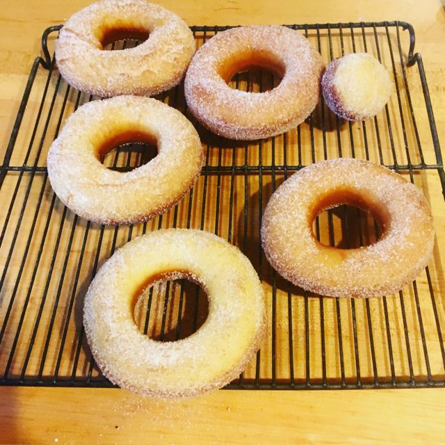 21 Vintage Betty Crocker Donuts sugared Overbooked and Underpaid