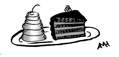 Cake slice anne and god
