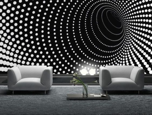 Outstanding wall art ideas inspired by optical illusions 2