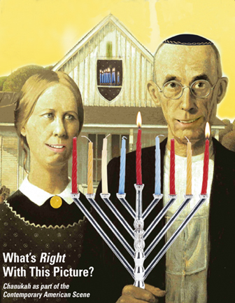 American Gothic Chanukah overbooked and underpaid