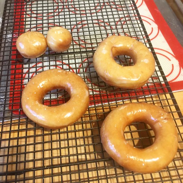 20 Vintage Betty Crocker Donuts glazed Overbooked and Underpaid