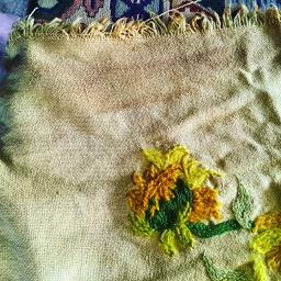 Stained embroidery overbooked and underpaid