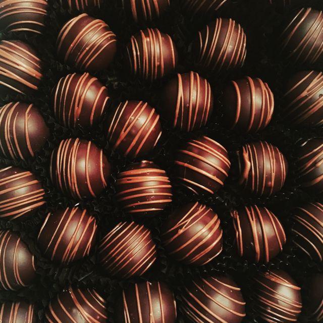 Chocolate truffles anne morse hambrock