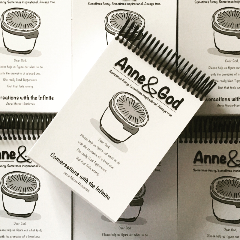 Anne and God new book cover