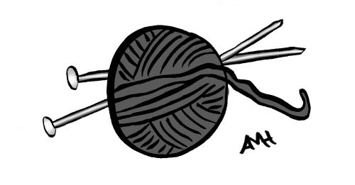 Knitting yarn anne and god