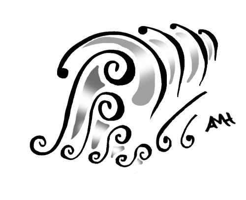 rudeness doodle w gray w sig