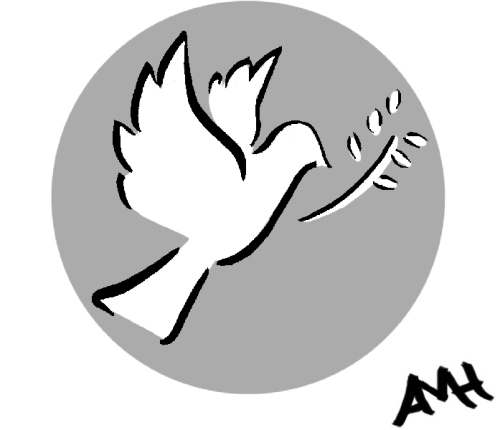peace dove anne and god
