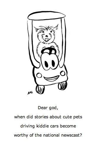 dog kiddie car